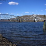East Haddam swing bridge over the Connecticut River.