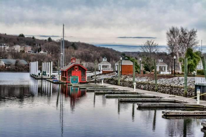 Norwhich, CT – Waterfront & interesting buildings.