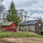 Withering Barns, east side of Wallingford, CT