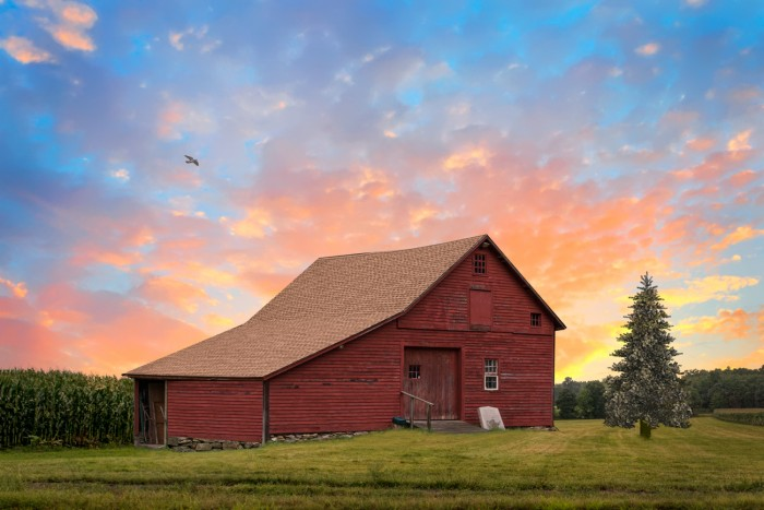 Historic Barn, Coventry CT